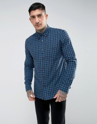 Hymn Vaynor Brushed Check Shirt - Blue