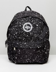 Hype Backpack In Black With Speckle - Black