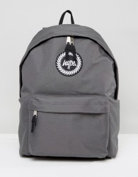Hype Backpack In Grey - Grey