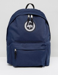 Hype Backpack In Navy - Navy