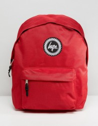 Hype Badge Red Backpack - Red