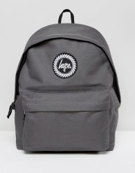Hype Exclusive Script Strap Backpack in Grey - Grey