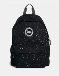 Hype Speckle Backpack - Black