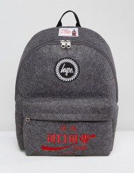 Hype X Coca Cola Backpack in Charcoal - Grey