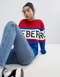 Iceberg Oversized Logo Sweatshirt - Multi