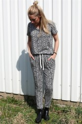 Ichi - Bukser - Lisa Pants - Antique White