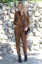 Ichi - Jumpsuit - Lima Lykke - Bronze Brown