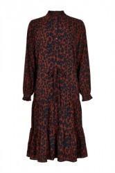 Ichi - Kjole - IX Jenny Dress - Red Ochre