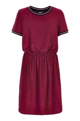 Ichi - Kjole - Rikke Dress - Red Dahlia