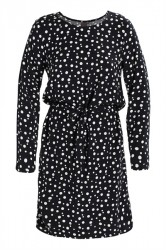 Ichi - Kjole - Vera Dress - Total Eclipse Print