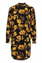 Ichi - Skjorte - IH Bloom Shirt - Citrus