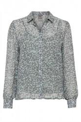 Ichi - Skjorte - IH Bossa Shirt - Lily Pad