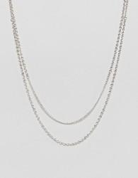 Icon Brand antique silver chain necklace - Silver