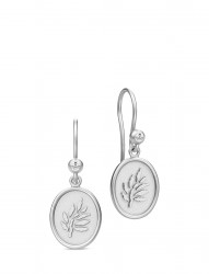 Icon Earring - Rhodium