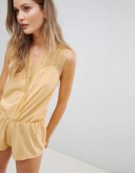 Icone Ambre Playsuit - Yellow