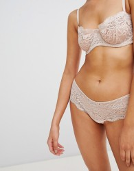 Icone Topaze Lace Thong - Pink