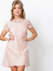Ida Sjöstedt Helena Dress Kropsnære kjoler Soft Pink