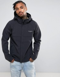 Illusive London Windbreaker Jacket In Black - Black