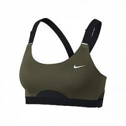 Infinity Nike Infinity-sports-bh med medium støtte til kvinder - Grøn