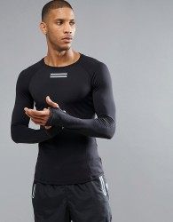 Influence Active Long Sleeve Top - Black