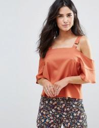 Influence Ring Detail Cami Top - Orange
