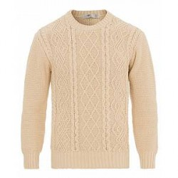 Inis Meáin Aran Beach Sweater Luachra