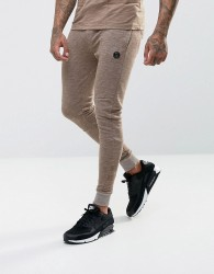 Intense Skinny Joggers In Stone - Stone