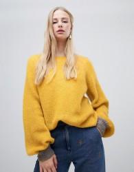 Intropia balloon sleeve jumper - Yellow
