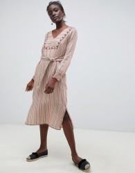 Intropia embroidered midi tunic dress - Multi