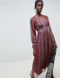 Intropia maxi dress in paisley print - Multi