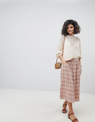 Intropia Prairie Buttondown Midi Skirt - Pink