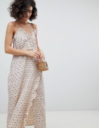 Intropia Printed Midi Slip Dress - Multi