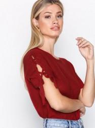 IRO Kuciana Top T-shirt Red