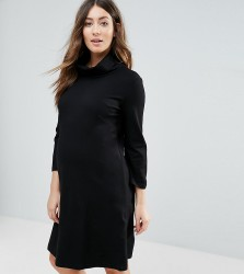 Isabella Oliver Marlow Maternity Tunic Dress - Black
