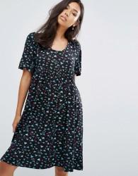 Ivana Helsinki Moomin Laina A-Line Dress - Navy