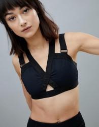 Ivy Park Active Strappy Harness Bra In Black - Black
