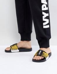 Ivy Park Lace Up Slider Sandals - Multi