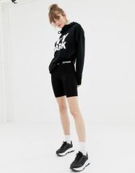 Ivy Park legging shorts in black - Black