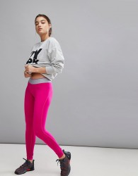 Ivy Park Leggings With Logo Waistband In Pink - Pink