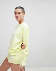 Ivy Park Logo Sweatshirt In Yellow - Yellow