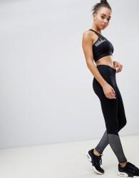Ivy Park mid rise ankle mesh lace up legging - Black