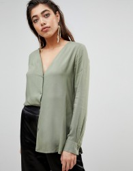 Ivyrevel Blouse with Button Front - Green