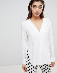 Ivyrevel Blouse with Button Front - White