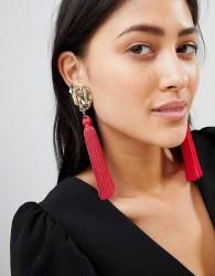 Ivyrevel Heart Tassel Earrings - Multi