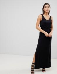 Ivyrevel Maxi Dress with Split - Black