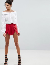 Ivyrevel Short With Split Front - Red