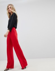 Ivyrevel Wide Leg Jersey Trouser - Red