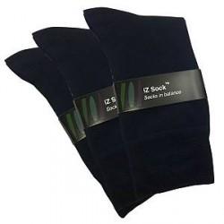 IZ Sock 3 Par Bambusokker i Blå 2014413