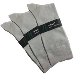 IZ Sock 3 Par Bambusokker i Grå 2014513