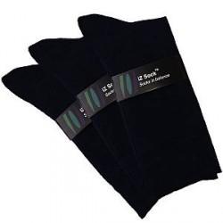 IZ Sock 3 Par Bambusokker i Sort 2014110